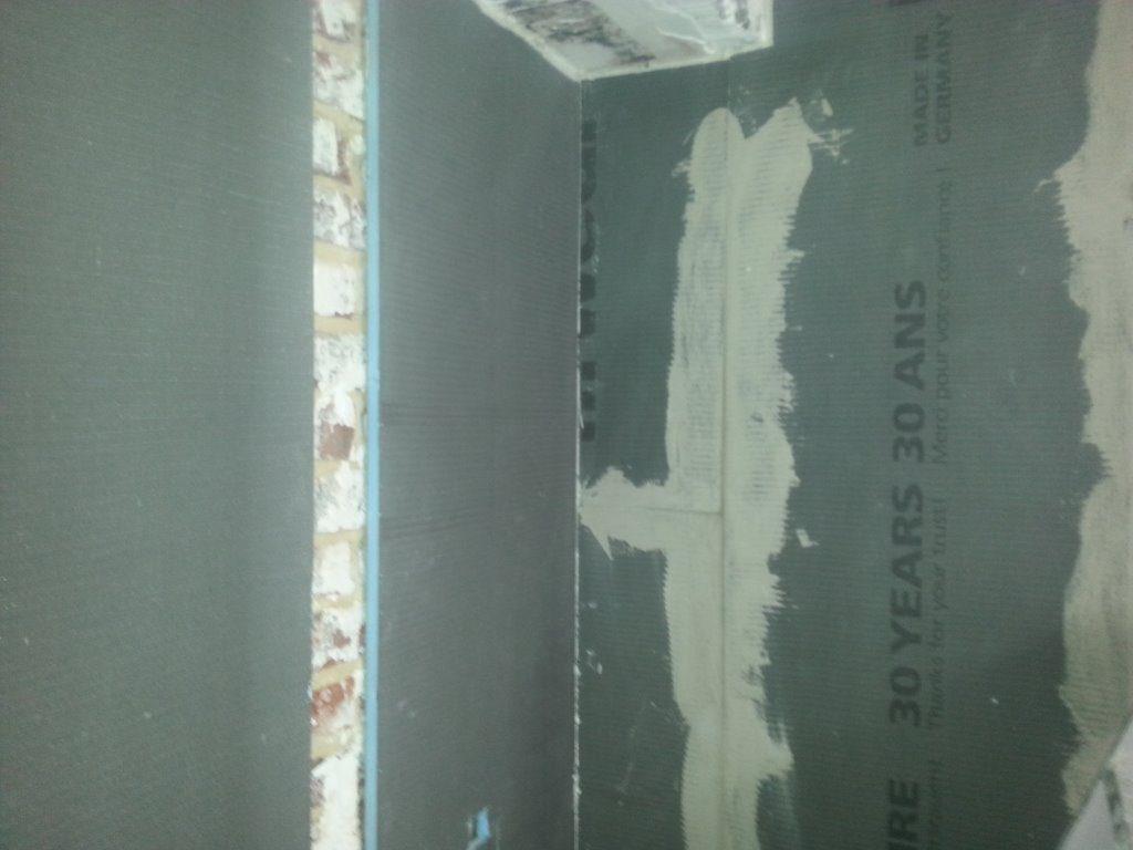 Binnenisolatie badkamer isolatieplaten